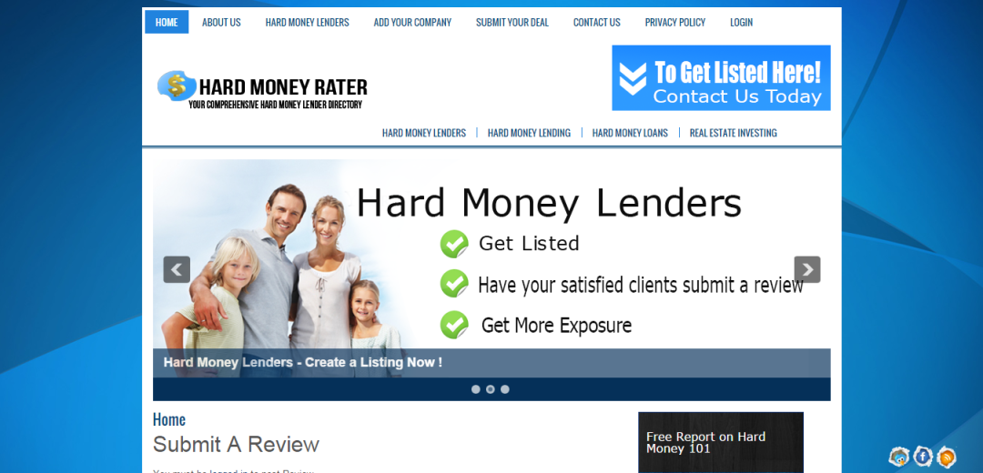 Hard Money Rater